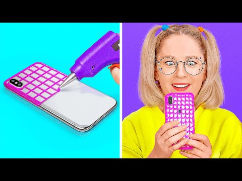 COOL DIY PHONE CRAFTING IDEAS || Cool And Easy Crafts And Hacks For Your Phone