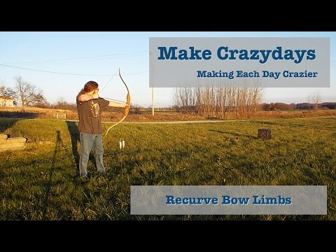 Recurve Bow Limbs