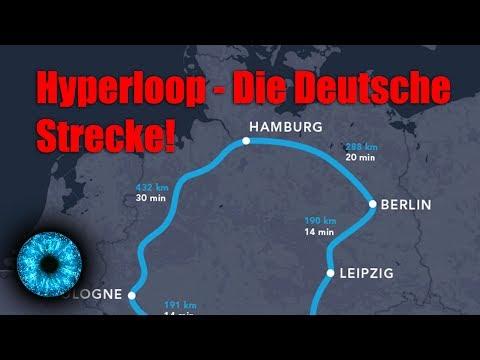 Hyperloop - Deutsche Strecke geplant! - Clixoom Science & Fiction