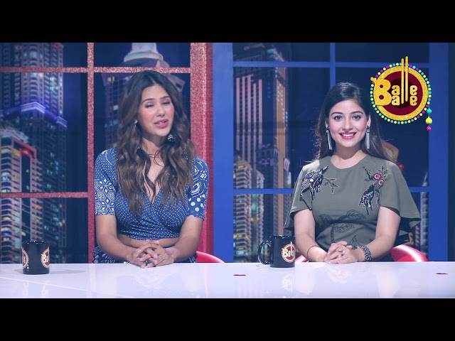 Khorupanti News with Lakha Ft. Sonam Bajwa & Tania || Balle Balle TV || Full Interview