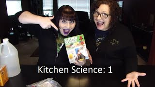 Kitchen Science - rocket, volcano & fruit battery