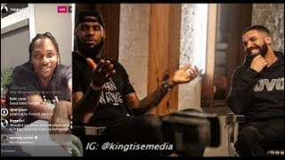 Pusha T Disses LeBron James In Reaction To Drake's 'The Shop' Interview On HBO