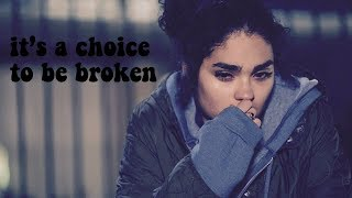 simone davis -it's a choice to be broken