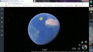 How to launch Google Earth  in Chrome
