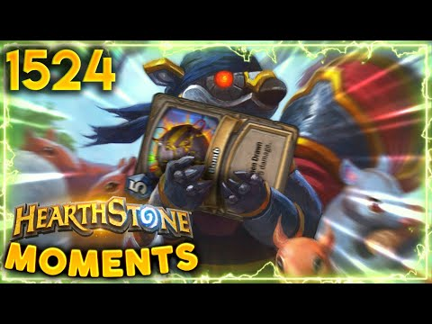 Draw Bomb To Find Lethal? ACTUALLY WORKED! | Hearthstone Daily Moments Ep.1524