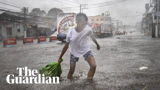 Typhoon Kammuri Slams Into Philippines Forcing Hundreds Of Thousands To Flee