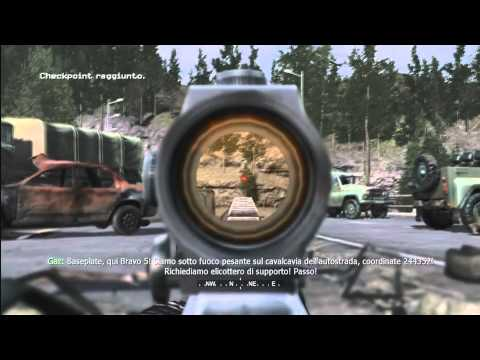 Call Of Duty 4: Modern Warfare FINE - (ITA) - 19 - Game over |