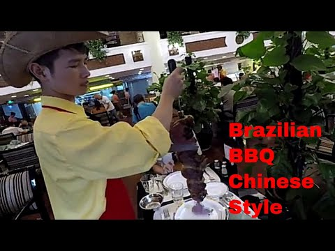 All you can eat BRAZILIAN Barbeque in Nanning, China