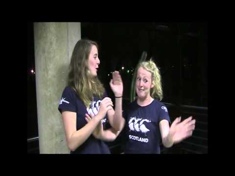 Scottish Senior Women South Africa  Video Diary Part 2