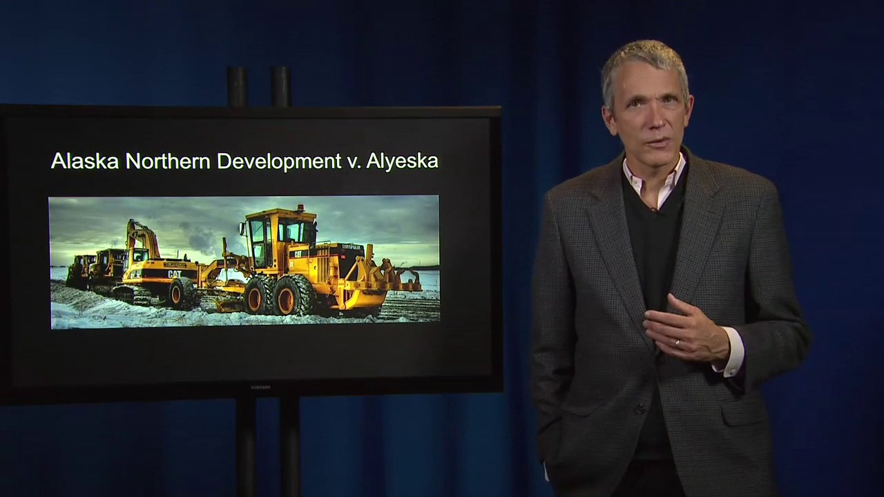 Contract Law 53a IV Alaska Northern Dev Inc v Alyeska Pipeline Service Co