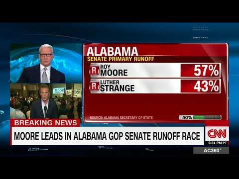 CNN projects Moore wins Alabama GOP primary