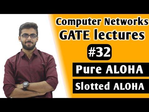 Pure ALOHA and Slotted ALOHA in Computer Networks | Computer Networks GATE Lectures | CN GATE