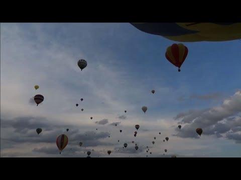Premier envol en masse de montgolfières en Lorraine