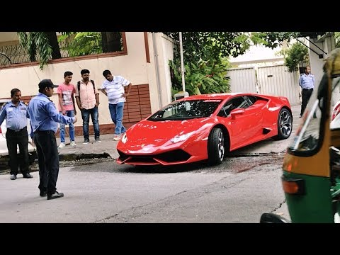 SUPERCARS IN INDIA | OCTOBER 2017 | Bangalore - Part 1