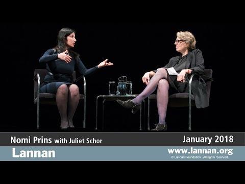 Nomi Prins, Conversation, 24 January 2018