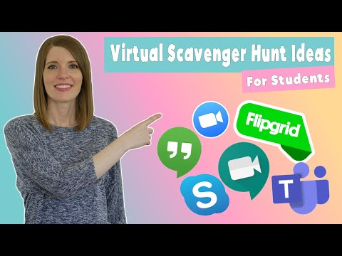 Virtual Scavenger Hunt Ideas for Students