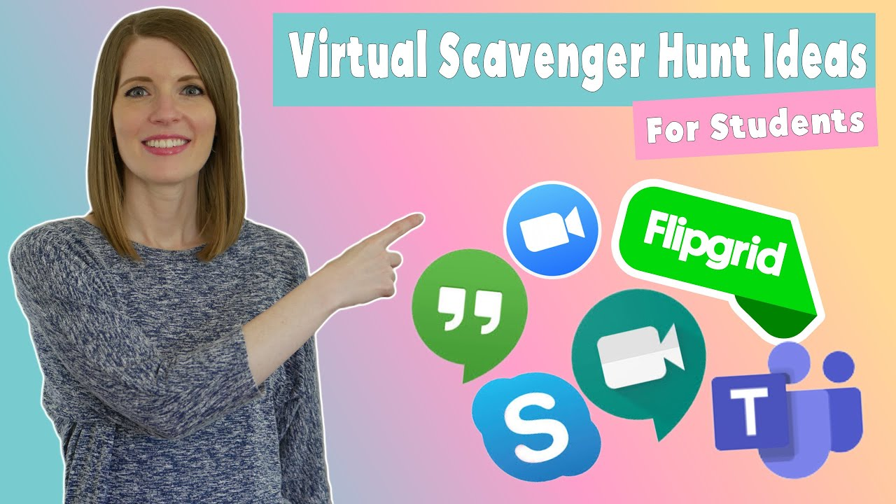 Virtual Scavenger Hunt Ideas For Students Youtube