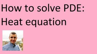 heat equation how to solve