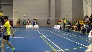 WE Holding Age Group Championship 2015. BD U13 Quarter Final