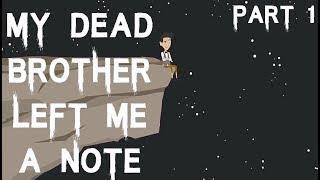 Ölü Kardeşim (Bölüm 1) Bana Musallat Bir Not Bıraktı   Korkunç Hikaye Animasyon