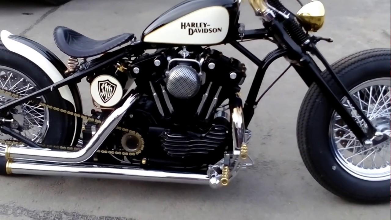 Harley Evo Sportster Bobber 883