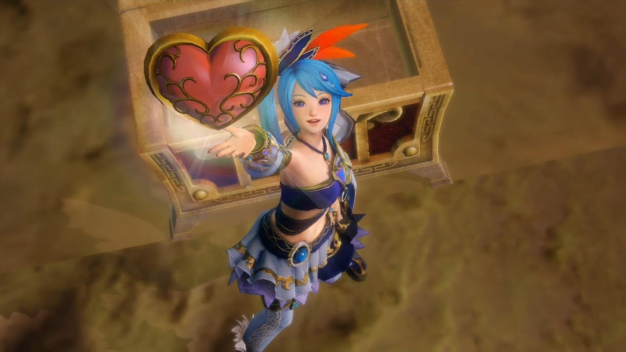 Hyrule Warriors Stage 4 Heart Container Heart Piece And Golden Skulltulas Youtube