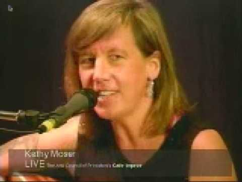 Kathy Moser LIVE on Cafe Improv