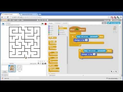 Maze - Invent with Scratch 2.0 Screencast