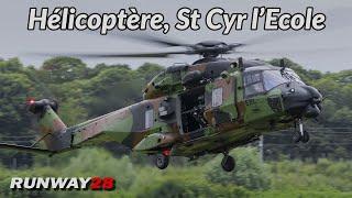 🌍 Défilé 14 Julliet 2021; ALAT Hélicoptère, Saint Cyr l'Ecole Aérodrome