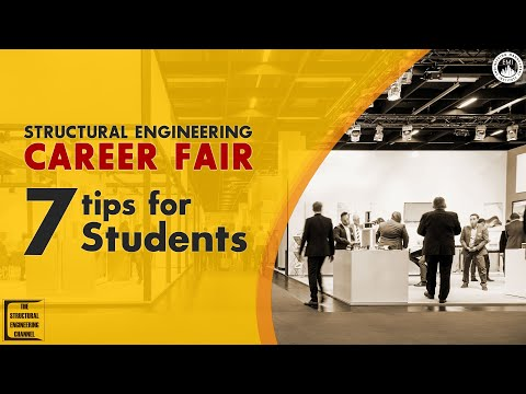 Structural Engineering Career Fair Tips for Students