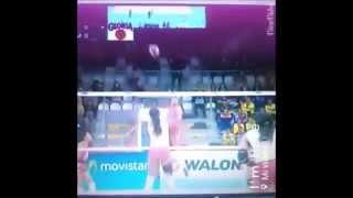 Angela leyva  N°12 Volleyball