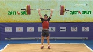 2017 European Weightlifting Championships Men 62 kg \ Тяжелая атлетика Чемпионат Европы [1080]