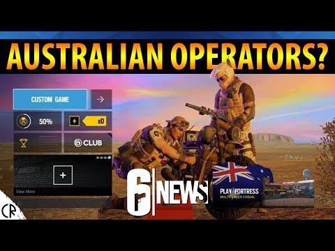 Australian Operator Leaks - Mozzie & Gridlock - Year 4 - 6News - Tom Clancy's Rainbow Six Siege