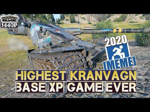 Kranvagn: Highest KRAN xp game ever