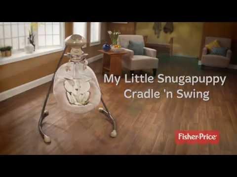 Columpio Silla Hamaca Fisher Price Snugapuppy Jugueteria Baby Kingdom