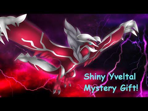 New Legendary Shiny Event Yveltal! (Mystery Gift May 2016 ...