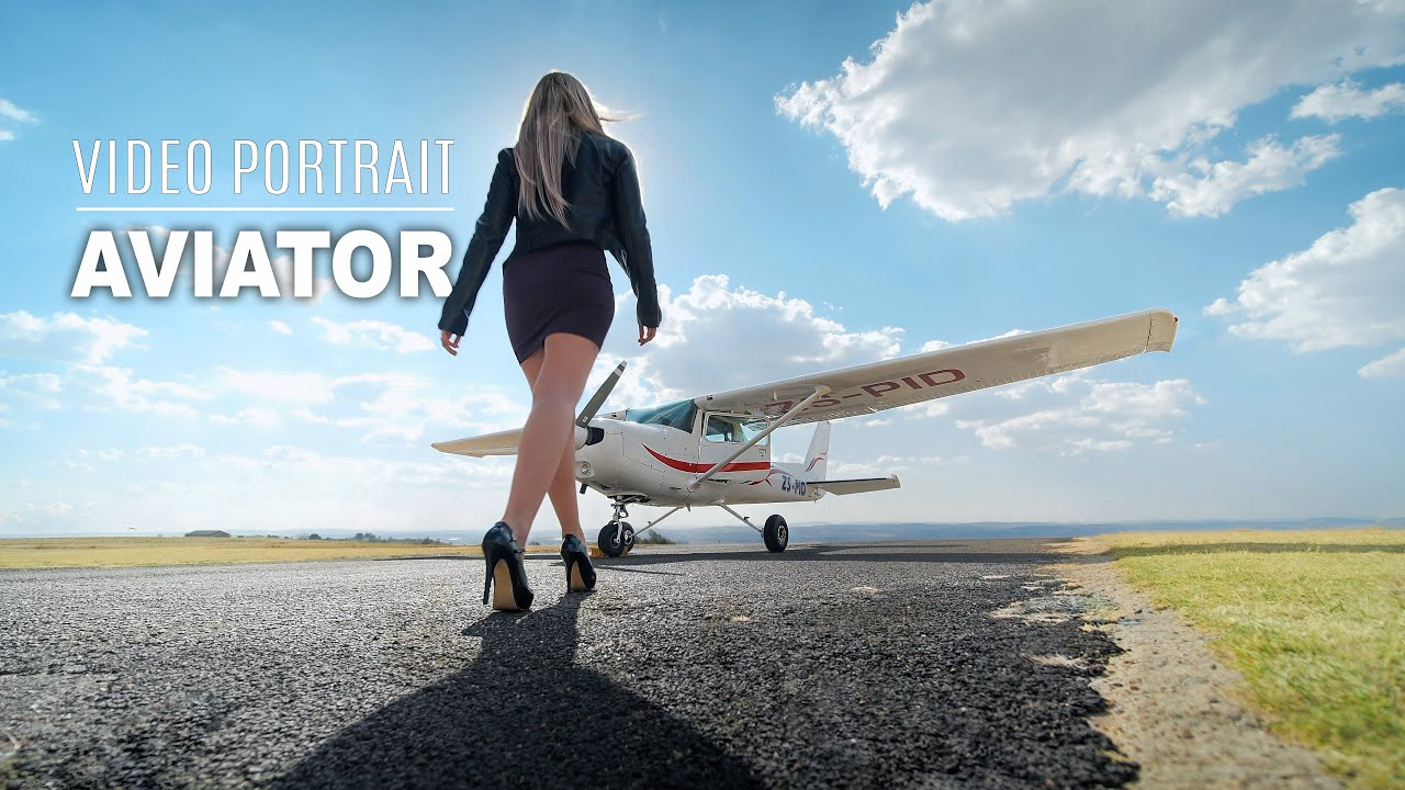Kaylas Aviator Video Portrait | 4K