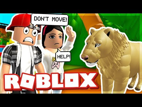OUR DATE AT THE ZOO WAS RUINED! - ROBLOX ESCAPE THE ZOO OBBY