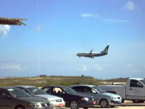 Otro Aterrizaje Mas Visto Desde Nikki Beach En Aruba You
