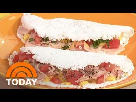 Tapioca Crepes: Camila Alves Makes A Brazilian-Style Breakfast   TODAY
