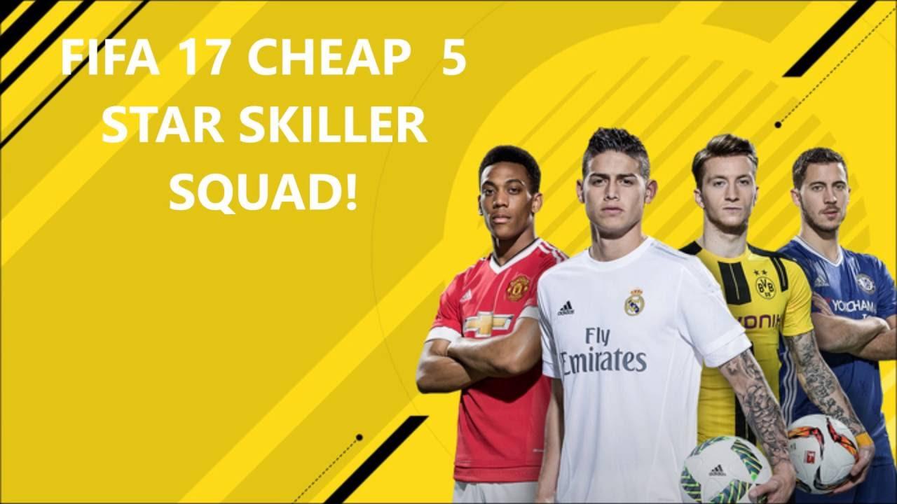 Fifa 17 5 Star Skiller