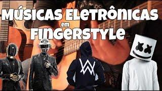 10 Músicas Eletrônicas no Violão Fingerstyle - Fabio Lima