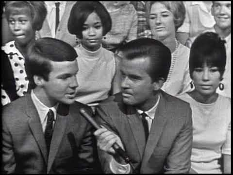 American Bandstand 1965- Interview Bobby Vee