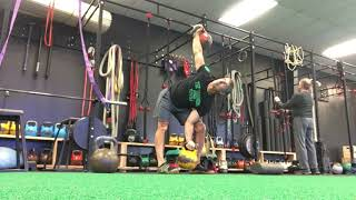 Kettlebell Sots press and 2 hands anyhow