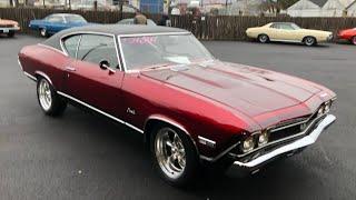 Test Drive 1968 Chevrolet Chevelle SOLD $26,900 Maple Motors #976