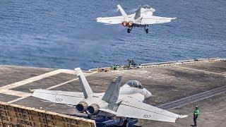 Aircraft Carrier Flight Operations – USS Nimitz