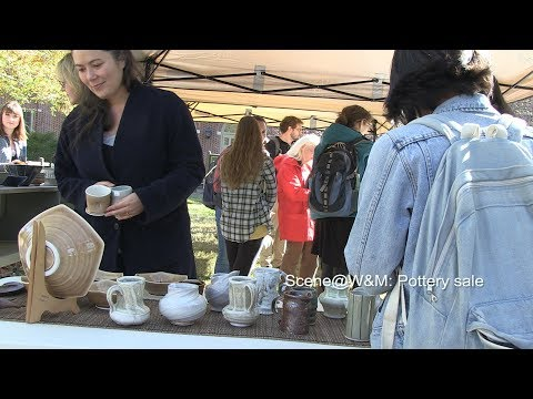 Scene@W&M: Pottery sale