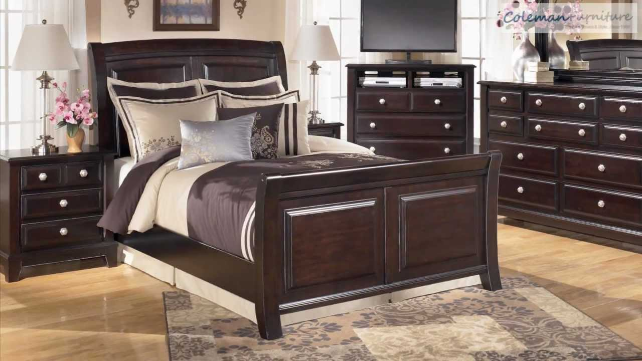 Ridgley bedroom furniture collection from signature design for Furniture collection
