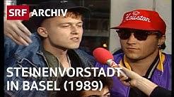 Steinenvorstadt Basel und ihr schlechter Ruf (1989) | SRF Archiv
