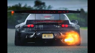 MAZDA RX7 Epic Exhaust Sounds!!!